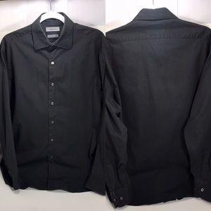 🌟Claiborne Men's Gray Button Up Shirt